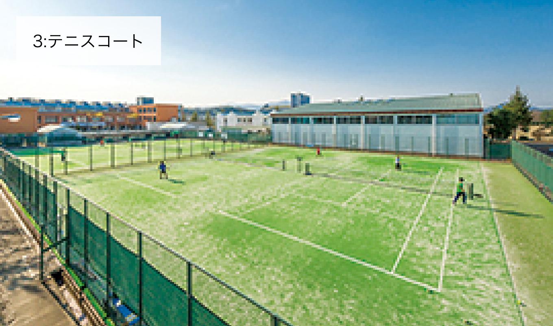 3:テニスコート