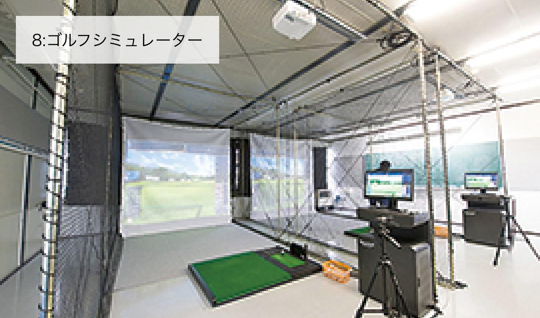 8:ゴルフシミュレーター